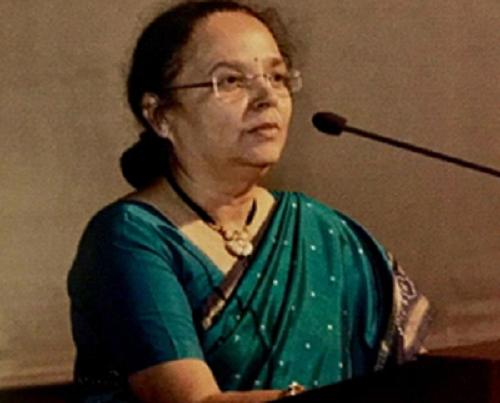 President Dr.Sanjeevani kelkar