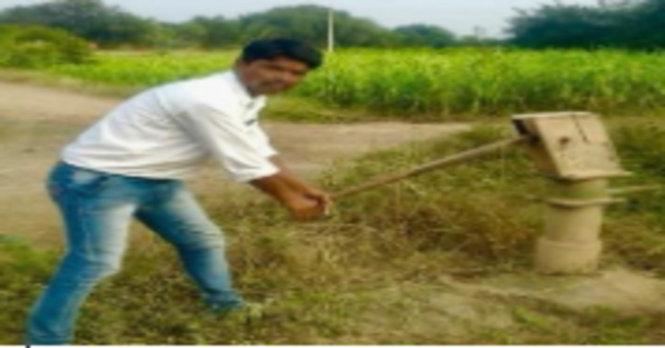 Work of water conservation at Gardi