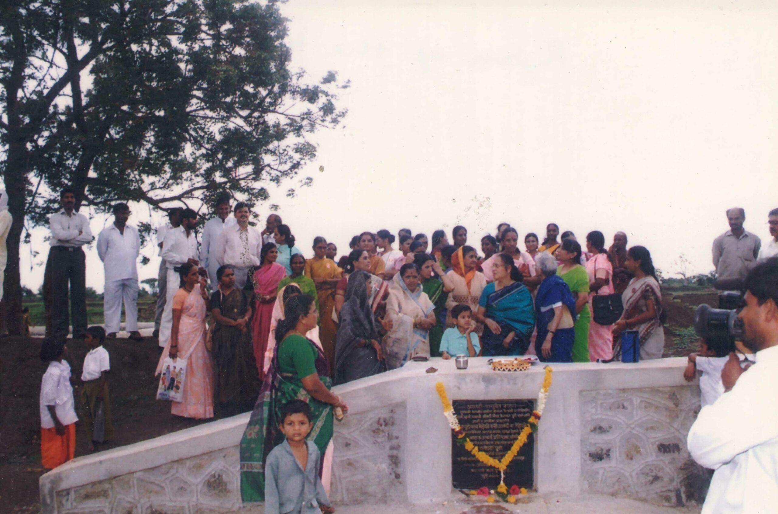 Inauguration of bund